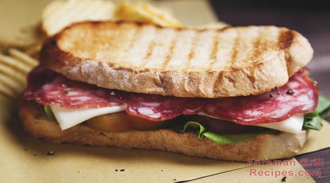 Italian Panini Sandwich Recipe