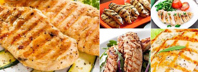 Foreman Grill Chicken Recipes