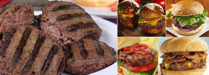 Foreman Grill Hamburger Recipes