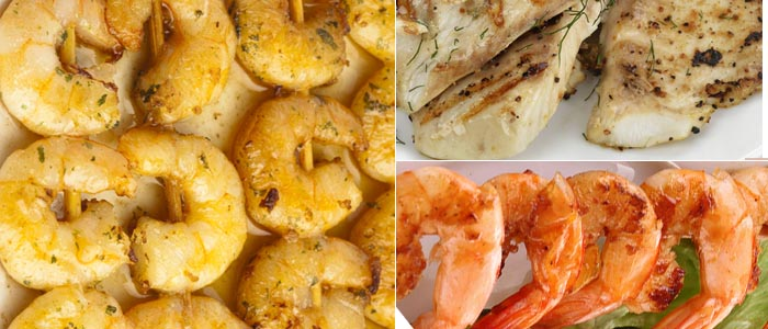 Foreman Grill Seafood Recipes