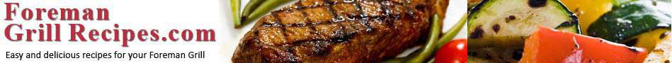 Foreman Grill Recipes