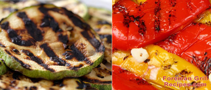 Foreman Grill Vegetable and Fruit Recipes Recipe