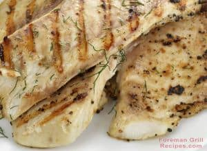 Easy Grilled Tilapia Foreman Grill