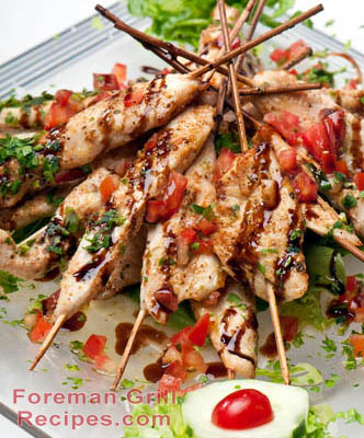 Chicken Teriyaki Kabobs Recipe