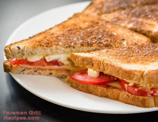 Quick and Easy Turkey Melt Recipe