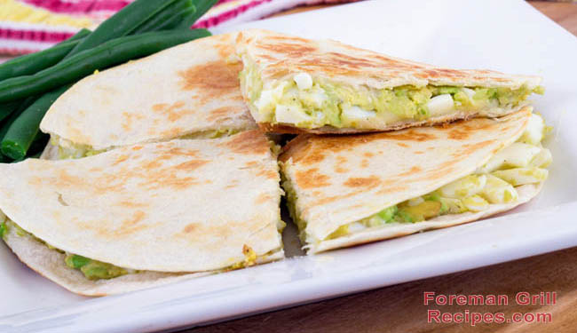 Grilled Chicken and Cheese Quesadillas Recipe