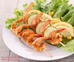 Easy Grilled Shrimp