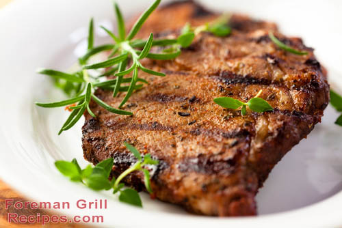 Easy Foreman Grill Pork Chops Recipe