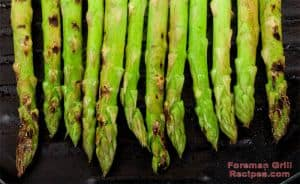 Foreman Grill Grilled Asparagus