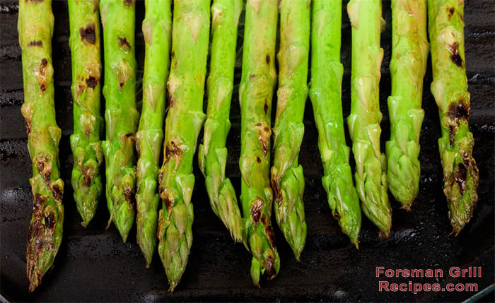 Foreman Grill Asparagus Recipe