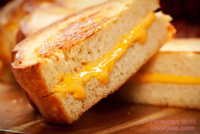 Easy Foreman Grill Grilled Cheese Recipe