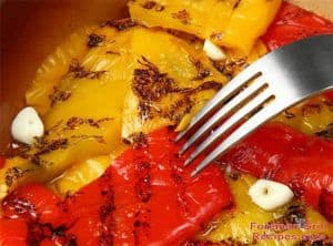 Foreman Grill Grilled Peppers