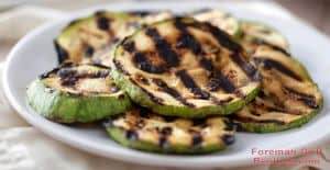 Foreman Grill Grilled Zucchini