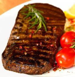 New-York-Strip-Steak Foreman Grill