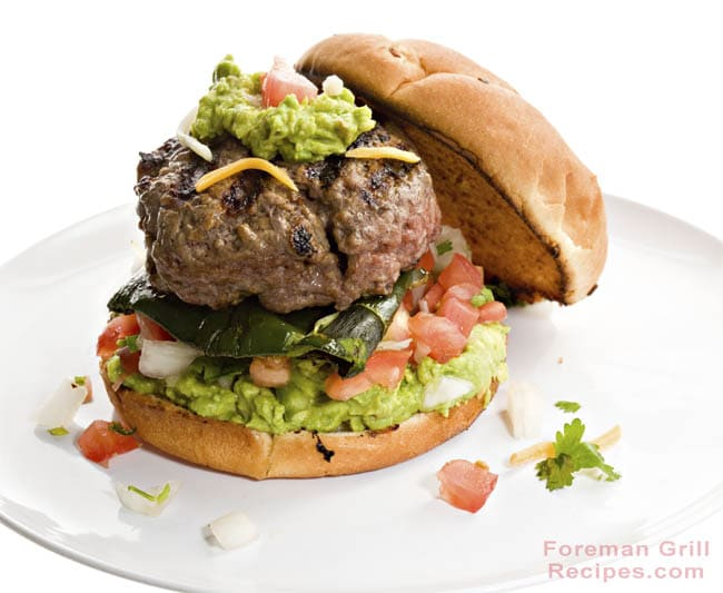 California Burger Recipe