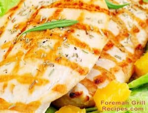 Easy Citrus Grilled Chicken Breast