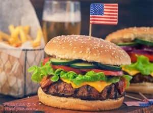 American Grill Hamburger