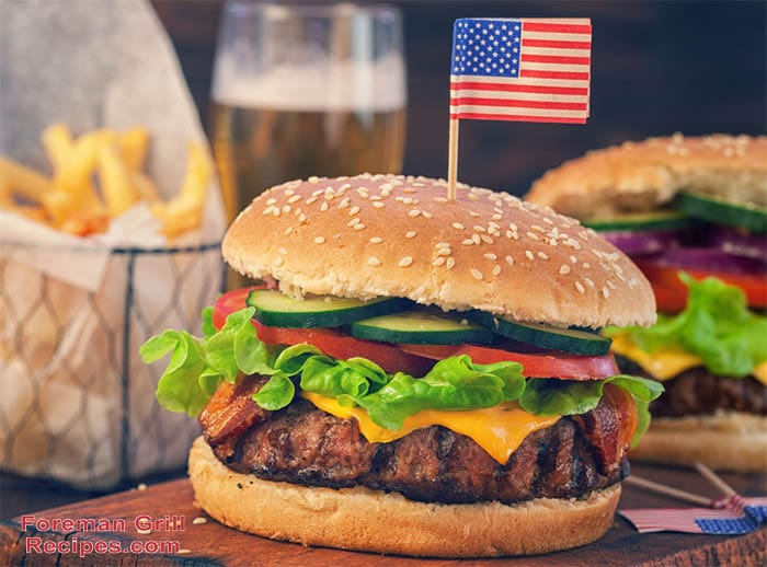 Foreman Grill American Hamburger Foreman Grill Recipes