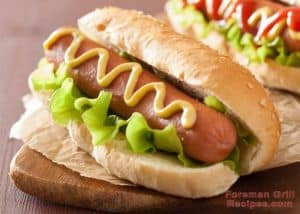 Foreman Grill Hot Dogs