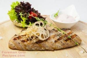 Foreman Grill Catfish