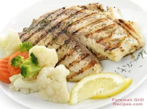 Foreman Grill Grilled Tilapia