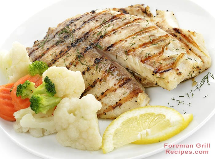 Grilled Tilapia with Sweet Lemon Butter Recipe
