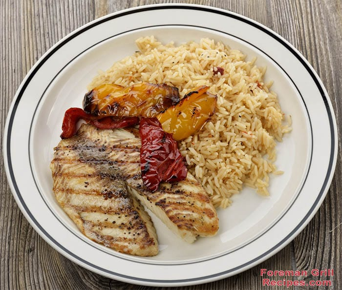 Foreman Grill Tilapia Recipe