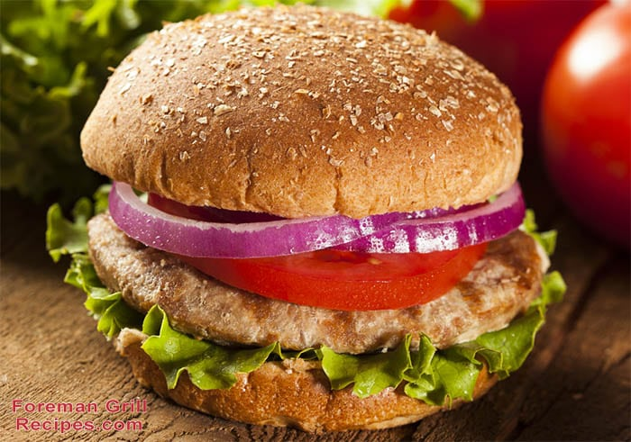 Easy Turkey Burgers Foreman Grill Recipes