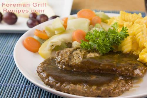 Foreman Grill Salisbury Steak Recipe
