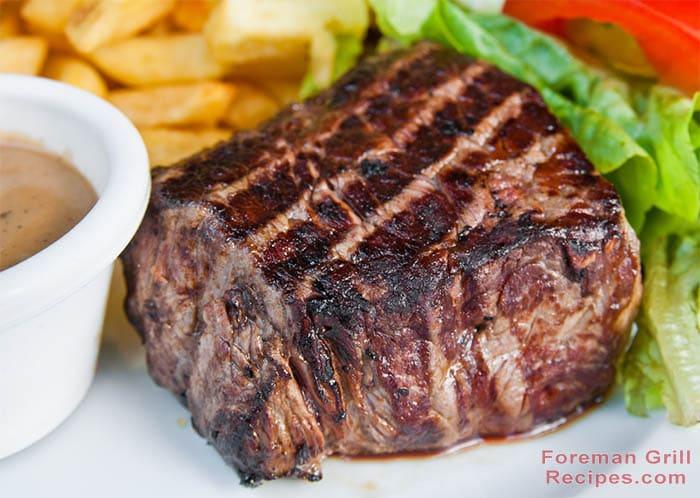 Foreman Grill Beef Steak Recipe