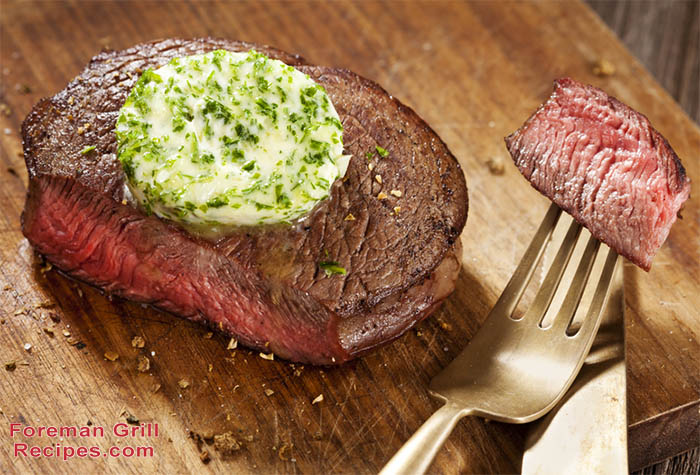 Easy Sirloin Steak with Garlic Chive Butter Recipe