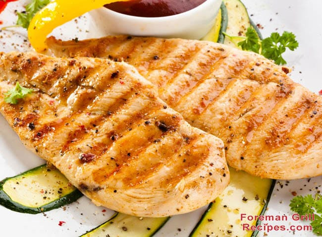 George foreman grill chicken recipe easy