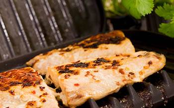 Easy Honey Ginger Grilled Salmon - Foreman Grill Recipes