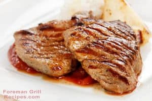 Easy Grilled Pork Chops - Mustard and Brown Sugar Glazed