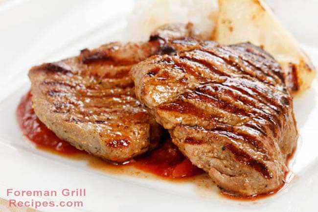 Easy Grilled Pork Chops – Mustard and Brown Sugar Glazed Recipe