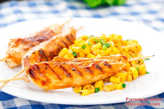 Grilled Honey Mustard Chicken - Foreman Grill Recipes