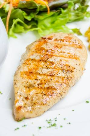 Not simple Grilled lemon chicken breast recipe possible