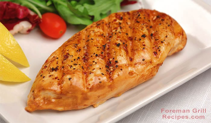 Easy Lemon Pepper Grilled Chicken Breast Recipe