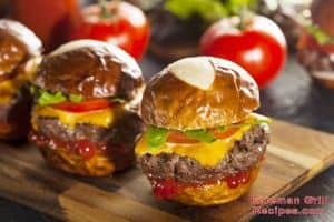 Pretzel Bun Sliders