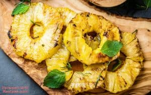 Grilled Pineapple on Foreman Grill