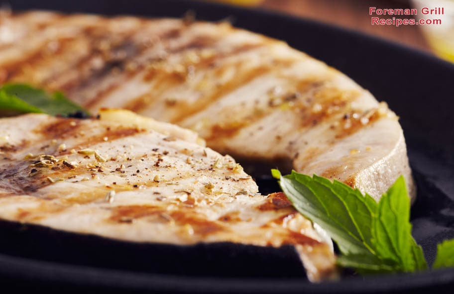 Grilled Swordfish with Herbs Recipe