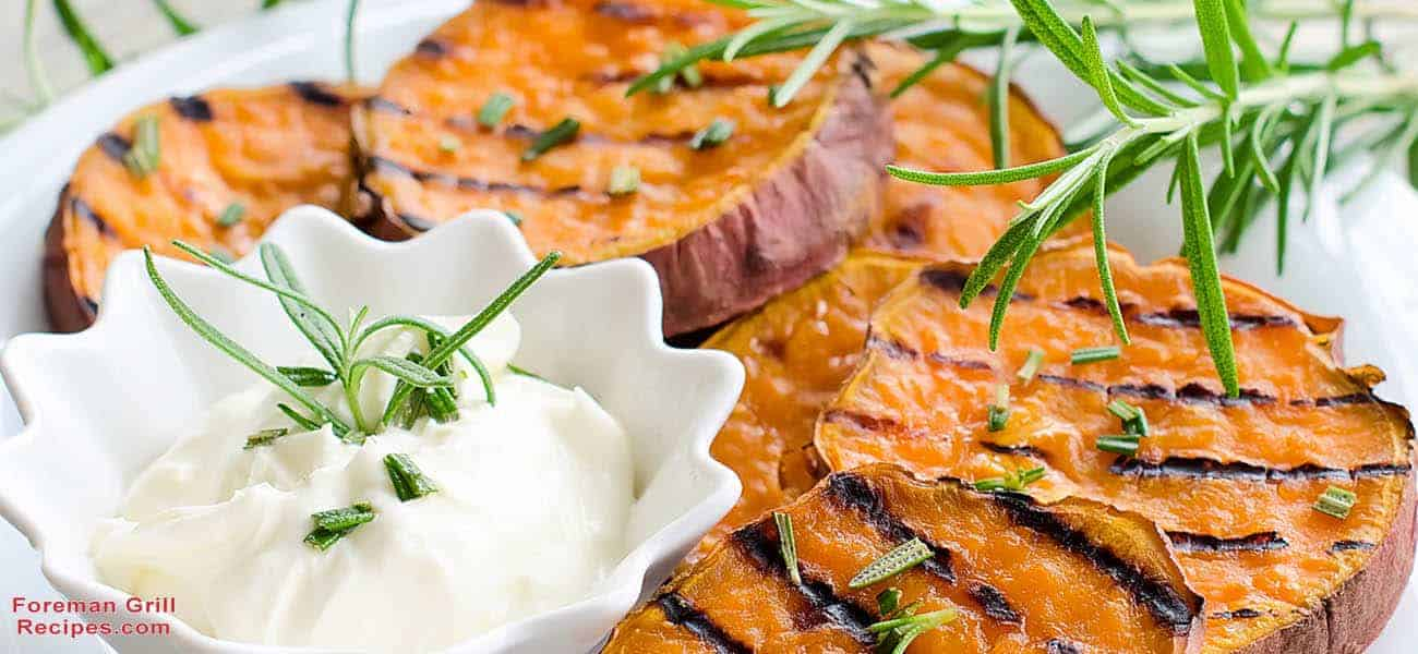 Grilled Potatoes and Sweet Potatoes Recipe