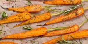 Grilled carrots on a George Foreman Grill