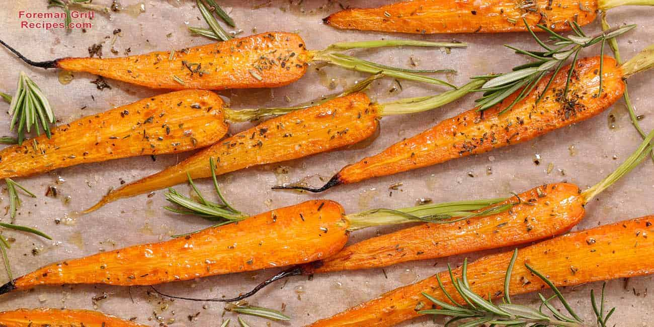 Grilled Carrots on a Foreman Grill Recipe