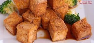 George Foreman Grill Grilled Tofu