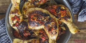 Piri Piri Chicken on a Foreman Grill