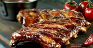 Ribs on a George Foreman Grill