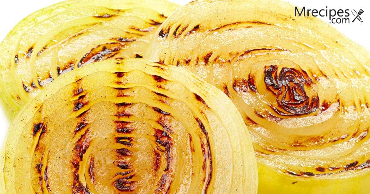 Grilled Onions on a Foreman Grill Recipe