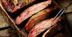 Foreman Grill Flank Steak