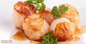 Foreman Grill Scallops